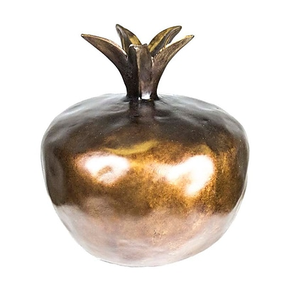 Sagebrook Home Pomegranate Figurine; Copper