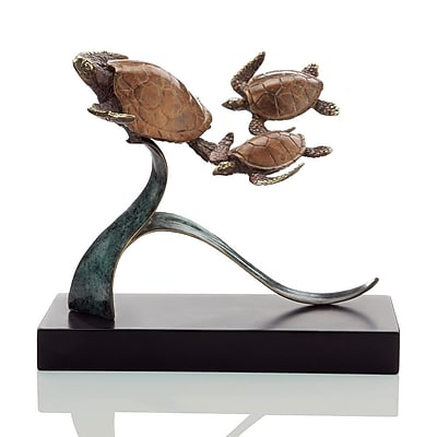 SPI Home Turtle Steady Swimmers Trio Figurine