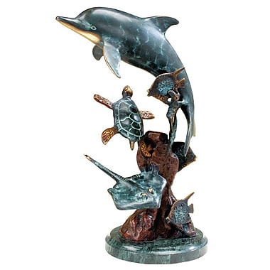 SPI Home Dolphin and Undersea Friends Figurine