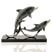 SPI Home Sailor's Delight Double Dolphins Figurine