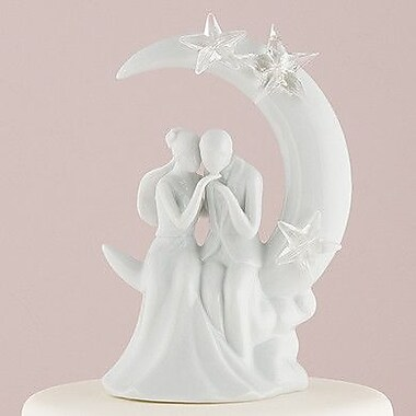 Weddingstar Written in the Stars Bride and Groom Figurine