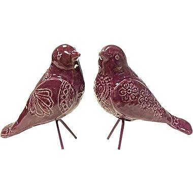Donny Osmond 2 Piece Standing Bird Decoration Set