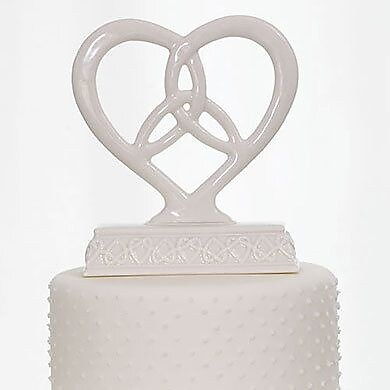 Weddingstar Heart Framed Trinity Knot Figurine