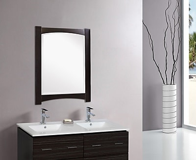 American Imaginations Transitional Wall Mirror; Gold