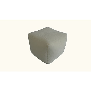 Ace Casual Furniture Pouf; Beige