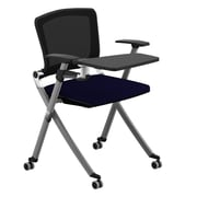 Compel Office Furniture Ziggy 19.25'' Mesh Tablet Desk; Flexi Nautical