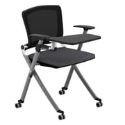 Compel Office Furniture Ziggy 19.25'' Mesh Tablet Desk; Flexi Alloy