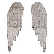 Creative Co-Op The Painted Porch Angel Wing Wall D cor (Set of 2)