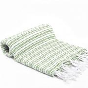Buldano Turkish Bath Towel; Green