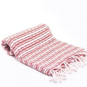 Buldano Turkish Bath Towel; Red