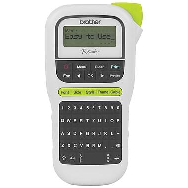 brother pt h110 lightweight portable label maker staples