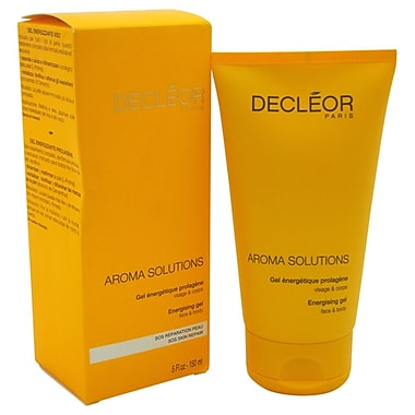 Decleor Aroma Solutions Energising Gel for Face and Body, 5 oz