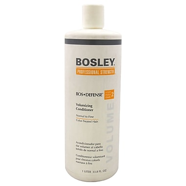 Bosley Bos-Defense Volumizing Conditioner for Normal To Fine Colour, 33.8 oz