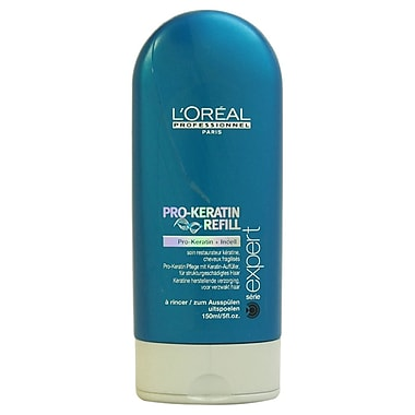 L'Oreal Professional Serie Expert Pro-Keratin Refill Correcting Care Conditioner, 5 oz