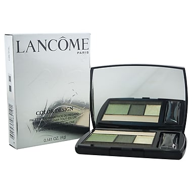 Lancome Color Design 5 Shadow & Liner Palette # 500, Jade Fever