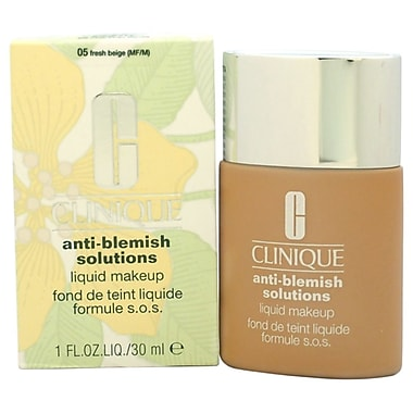 Clinique AntiBlemish Solutions Liquid Makeup#05 Fresh Beige(MF/M)Dry Comb. To Oily Skin, 1 oz