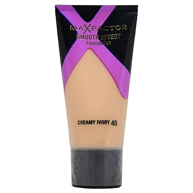 Max Factor Smooth Effects Foundation # 45 Creamy Ivory, 30 ml