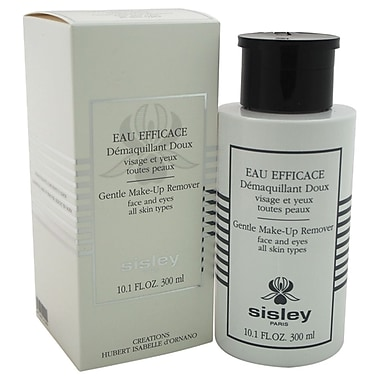 Sisley Eau Efficace Gentle MakeUp Remover for Face & Eyes All Skin Types, 10.1 oz