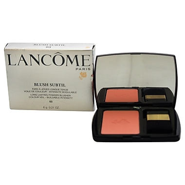 Lancome Blush Subtil Long Lasting Powder Blusher # 03, Sorbet De Corail, 0.21 oz