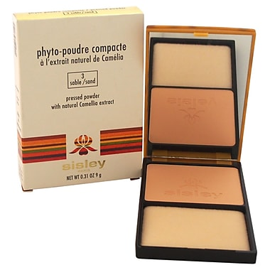 Sisley PhytoPoudre Compacte Pressed Powder # 3 Sable/Sand, 0.31 oz