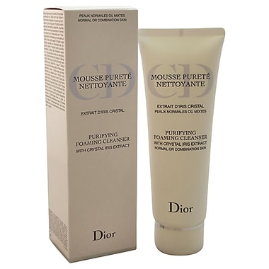 Christian Dior Purifying Foaming Cleanser, Normal/Combination Skin, 4.3 oz
