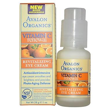 Avalon Organics Vitamin C Revitalizing Eye Cream, 1 oz