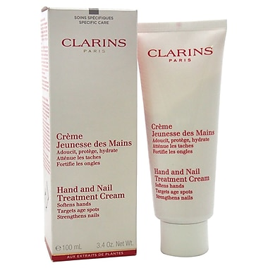 Clarins Hand and Nail Treatment Cream, 3.3 oz