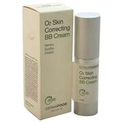 LashFood DermaFood O2 Skin Correcting BB Cream, Nude, 0.5 oz