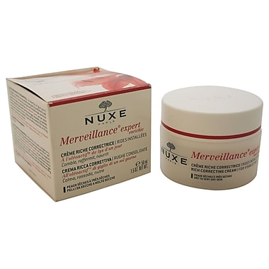 Nuxe Merveillance Rich Correcting Cream for Dry To Very Dry Skin, 1.5 oz