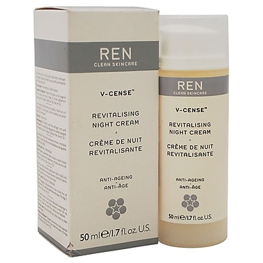 REN V-Cense Revitalising Night Cream, 1.7 oz