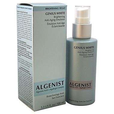 Algenist Genius White Brightening Anti-Aging Emulsion, 3.3 oz