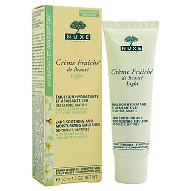 Nuxe Creme Fraiche de Beaute Light, 24-hour Soothing And Moisturizing Emulsion, 1.7 oz