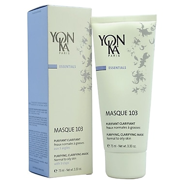 Yonka Masque 103 Purifying Clarifying Mask, Normal to Oily Skin, 3.3 oz