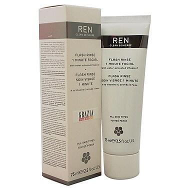 REN Flash Rinse 1 Minute Facial, 2.5 oz