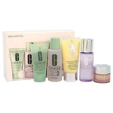 Clinique Daily Essentials Kit, Combination To Oily Skin, 5/Pack