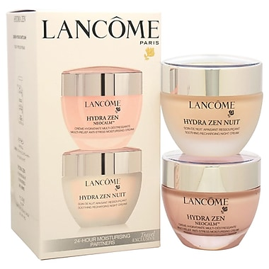 Lancome Hydra Zen 24-Hour Moisturising Partners, All Skin Types, 2/Pack