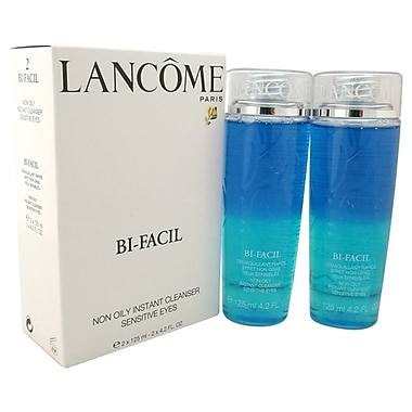 Lancome Bi-Facil Duo Set, Non Oily Instant Cleanser Sensitive Eyes, 2/Pack