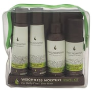 Macadamia Weightless Moisture Travel Kit, 4/Pack