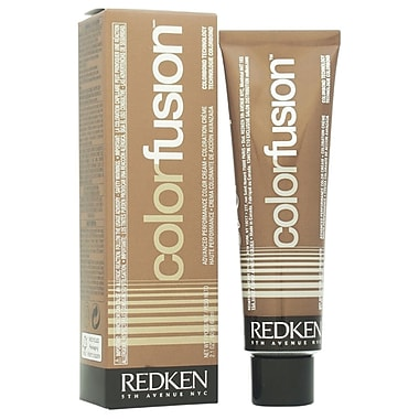 Redken Color Fusion Color Creme Natural Balance # 6Ab, Ash/Blue, 2.1 oz