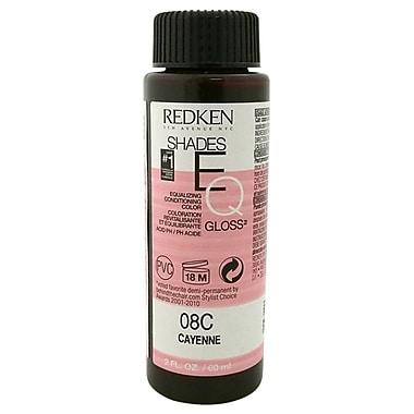 Redken Shades EQ Color Gloss 08C, Cayenne, 2 oz