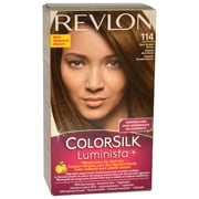Revlon Colorsilk Luminista #114 Dark Golden Brown, 1 Pc