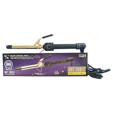 Hot Tools Professional Salon Curling Iron Model, Gold/Black