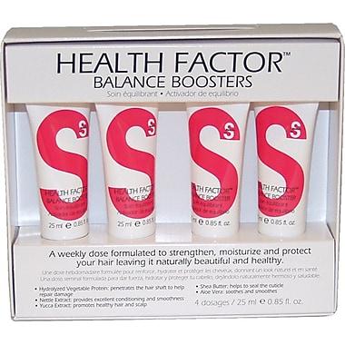 TIGI S-Factor Health Factor Balance Boosters BoxX4, 4 x 0.85 oz