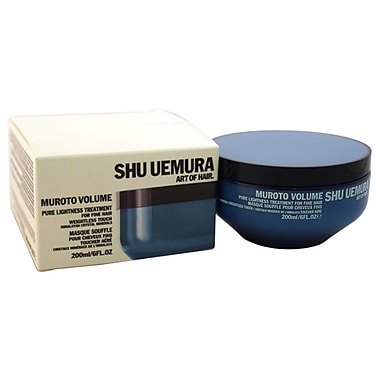 Shu Uemura Muroto Volume Pure Lightness Treatment Masque For Fine Hair, 6 oz