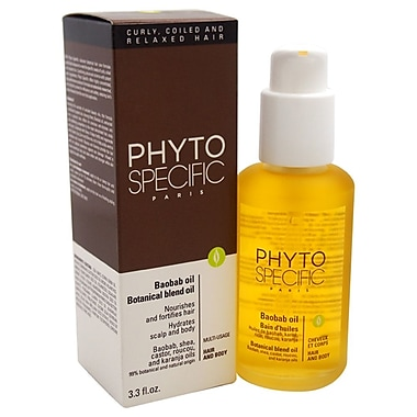 Phyto Phytospecific Baobab Oil Botanical Blend Oil - Hair & Body, 3.3 oz