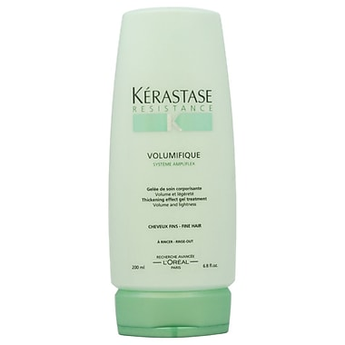 Kerastase Resistance Volumifique Thickening Effect Gel Treatment, 6.8 oz