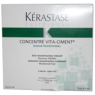 Kerastase Fusio Dose Concentre Vita Ciment Treatment, 15 x 0.4 oz