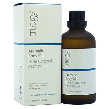 Trilogy Aromatic Body Oil, 3.3 oz