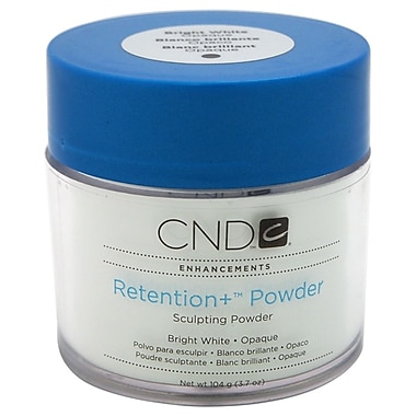 CND Retention + Powder Sculpting Powder, Bright White, 3.7 oz