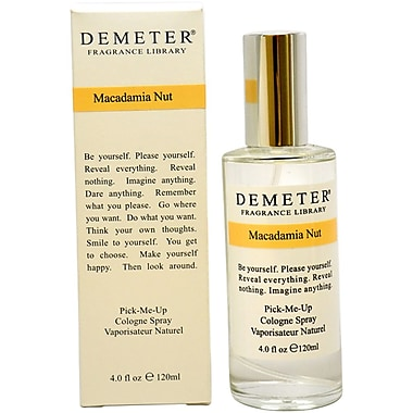 Demeter Macadamia Nut cologne Spray, Women, 4 oz